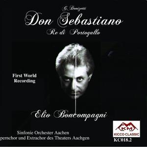 Gaetano Donizetti : Don Sebastiano Re di Portogallo, Grand Opera in 5 atti
