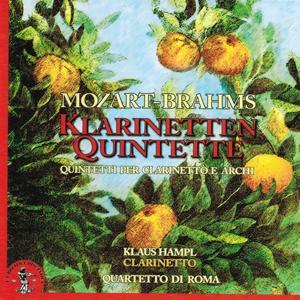 Wolfgang Amadeus Mozart - Johannes Brahms : Klarinetten Quintette (Quintetti per clarinetto e archi)