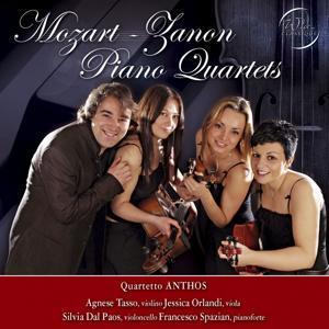 Wolfgang Amadeus Mozart - Antonio Zanon : Piano Quartets
