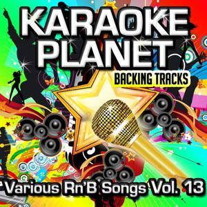 Various Rn'B Songs, Vol. 13 (Karaoke Planet)