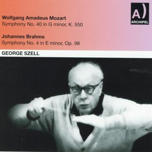 Wolfgang Amadeus Mozart: Symphony No. 40 In G minor, K. 550 - Johannes Brahms : Symphony No. 4 In E minor, Op. 98