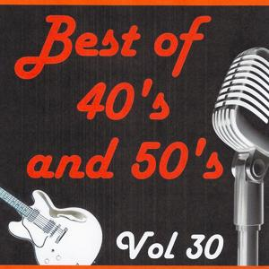 Best of 40's and 50's, Vol. 30