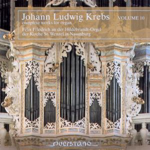 Johann Ludwig Krebs - complete works for organ Vol.10