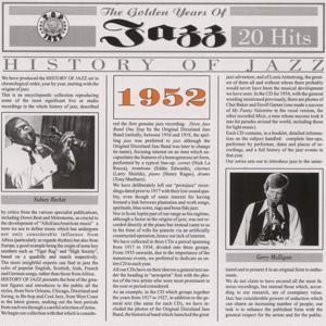 History Of Jazz 1952