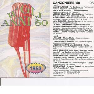 Canzoniere '53 - Canzoni Originali Del 1953