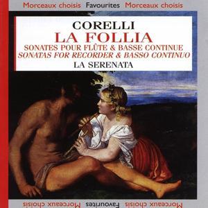 Corelli : La Follia - Sonates pour flûtes à bec & basse continue