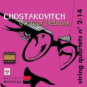 Chostakovitch : Quatuors à cordes No. 2 & 14, vol. 5
