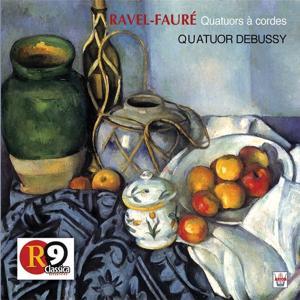 Ravel Fauré : Quatuors à cordes