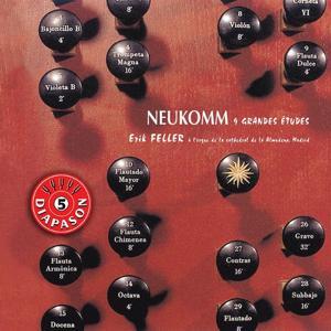 Neukomm : 9 grandes études pour orgue
