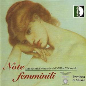 Meda, Agnesi, Nava D'Adda, Ferrari: Note Femminili. Compositrici Lombarde Dal XVII al XIX Secolo