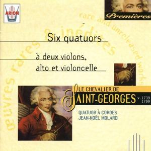 Saint-Georges : Six quatuors à 2 violons, alto & violoncelle