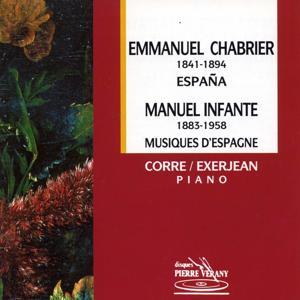 Chabrier : España - Infante - Musiques d'Espagne