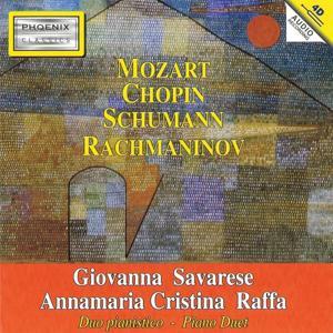 Mozart, Chopin, Schumann, Rachmaninov: Piano Duet