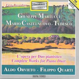 Giuseppe Martucci, Mario Castelnuovo-Tedesco : L'opera per duo pianistico (Complete Works for Piano Duet)