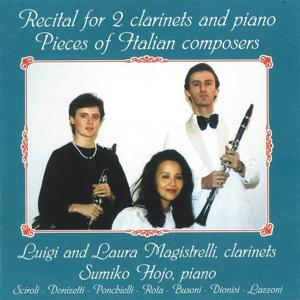 Recital for 2 Clarinets and Piano, Pieces of Italian Composers