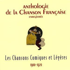 Anthologie de la chanson française - chansons comiques et légères (1900-1920)