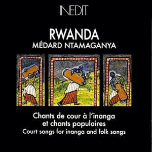 Rwanda. chants de cour à l'inanga et chants populaires. court songs for inanga and folk songs.