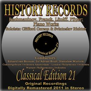 Rachmaninoff, Franck, Litolff & Pijper: Piano Works (History Records - Classical Edition 21 - Original Recordings Digitally Remastered 2011)