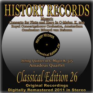 Mozart: Concerto for Flute and Harp in C Major, K. 299 & String Quintet in C Major K. 515 (History Records - Classical Edition 26 - Original Recordings Digitally Remastered 2011)