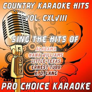 Country Karaoke Hits, Vol. 148 (The Greatest Country Karaoke Hits)