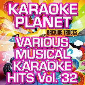 Various Musical Karaoke Hits, Vol. 32 (Karaoke Planet)