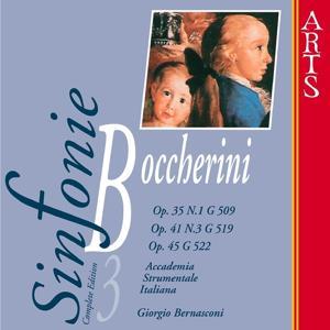 Boccherini: Sinfonie No. 1, Op. 35, Op. 45 & Op. 41, Vol. 3