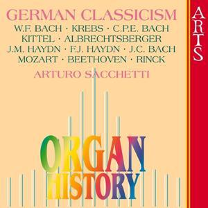 Organ History, German Classicism