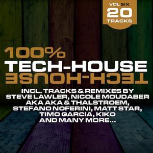 100% Tech-House Vol. 6