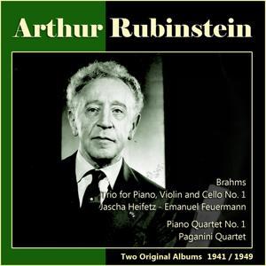 Brahms: Trio for Piano, Violin and Cello No. 1 - Fauré: Piano Quartet No. 1 (Two Original Albums 1941/1949)