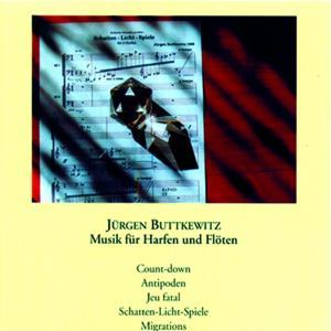 Jürgen Buttkewitz: Musik für Harfen und Flöten