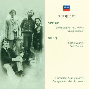 Sibelius: String Quartet in D minor; Delius: String Quartet; Cello Sonata