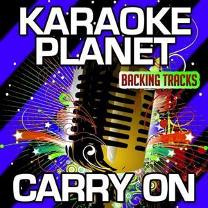 Carry On (Karaoke Version) (Originally Performed By Fun.)