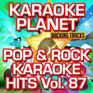 Pop & Rock Karaoke Hits, Vol. 87 (Karaoke Version)