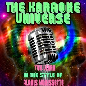 You Learn (Karaoke Version) [in the Style of Alanis Morissette]