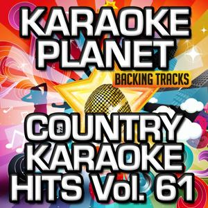Country Karaoke Hits, Vol. 61