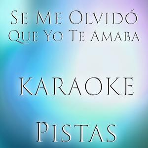 Se Me Olvido Que Yo Te Amaba (Karaoke Version) (Originally Performed by Frank Reyes)