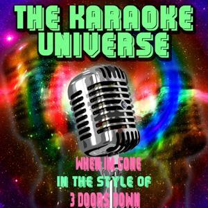 When Im Gone (Karaoke Version) [in the Style of 3 Doors Down]