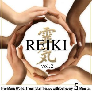 Reiki, Vol. 2 (Five Music World, 1 Hour Total Therapy With Bell Every 5 Minutes)