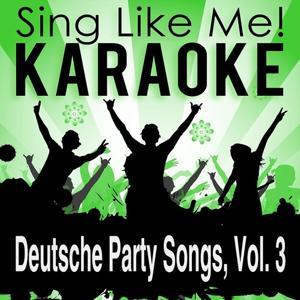Deutsche Party Songs, Vol. 3 (Karaoke Version)