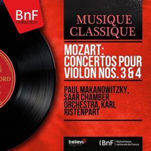 Mozart: Concertos pour violon Nos. 3 & 4 (Mono Version)
