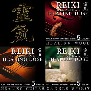 Reiki Binaural Healing Dose Collection, Vol. 6 (3h Full Therapy With Bell Every 5 Minutes)