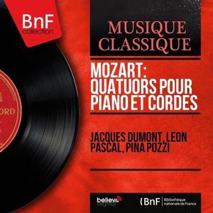 Mozart: Quatuors pour piano et cordes (Mono Version)