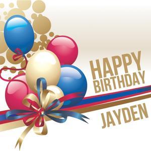 Happy Birthday Jayden