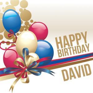 Happy Birthday David