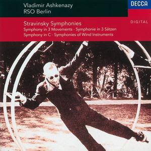 Stravinsky: Symphony in C/Symphony in 3 Movements/Symphonies of Winds