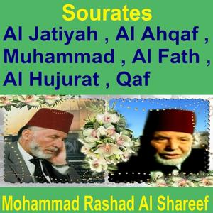 Sourates Al Jatiyah, Al Ahqaf, Muhammad, Al Fath, Al Hujurat, Qaf (Quran - Coran - Islam)