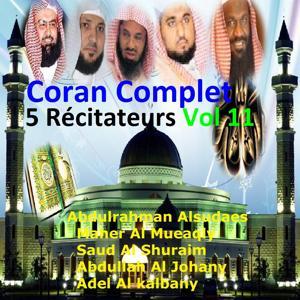 Coran complet 5 récitateurs, vol. 11 (Quran - Coran - Islam)