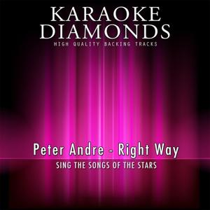 Right Way (Karaoke Version) [Originally Performed By Peter Andre]