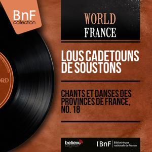 Chants et danses des provinces de France, no. 18