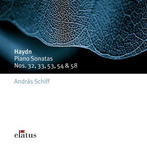 Haydn : Piano Sonatas Nos 32, 33, 53, 54 & 58  -  Elatus